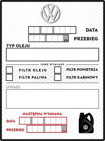Plakietki Wymiany Oleju Vwgolf Pl Forum Vwgolf Pl